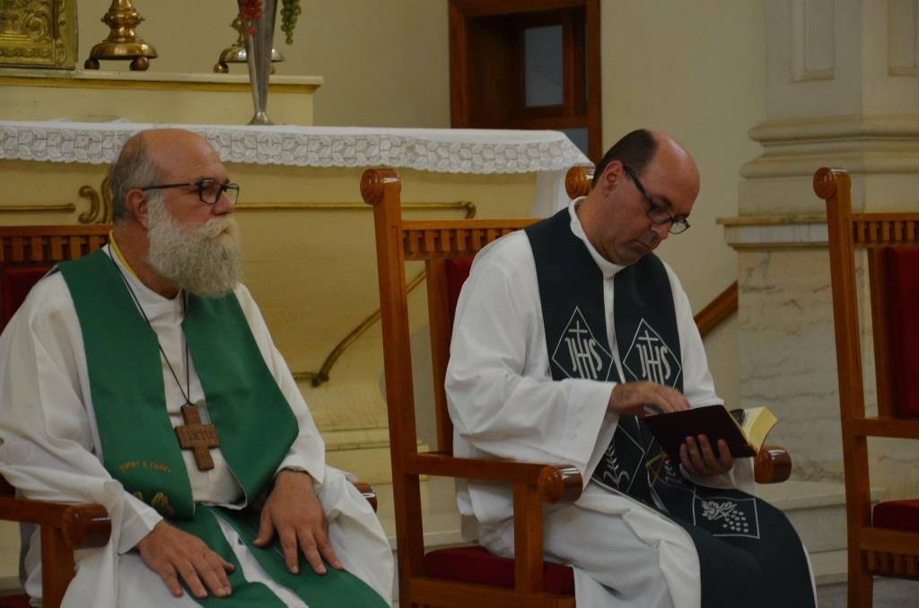 Monsenhor Carlos comemora 22 anos de Ordenação Presbiteral com o Clero