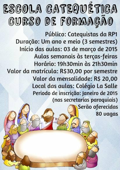 Escola Catequetica RP1