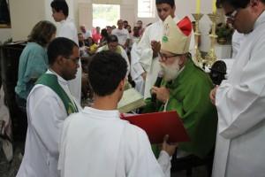 Padre Gustavo é o novo pároco do Santuário de Aparecida de São Manuel - SP