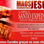 Santuário N.S. das Dores iniciou Novena das Mãos Ensanguentadas de Jesus na Comunidade Santo Expedito