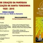 Paróquia Santa Teresinha de Cerqueira César comemora com festa os 90 anos de criação
