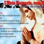 1ª Moto Romaria, com Maria será realizada em Igaraçu do Tietê