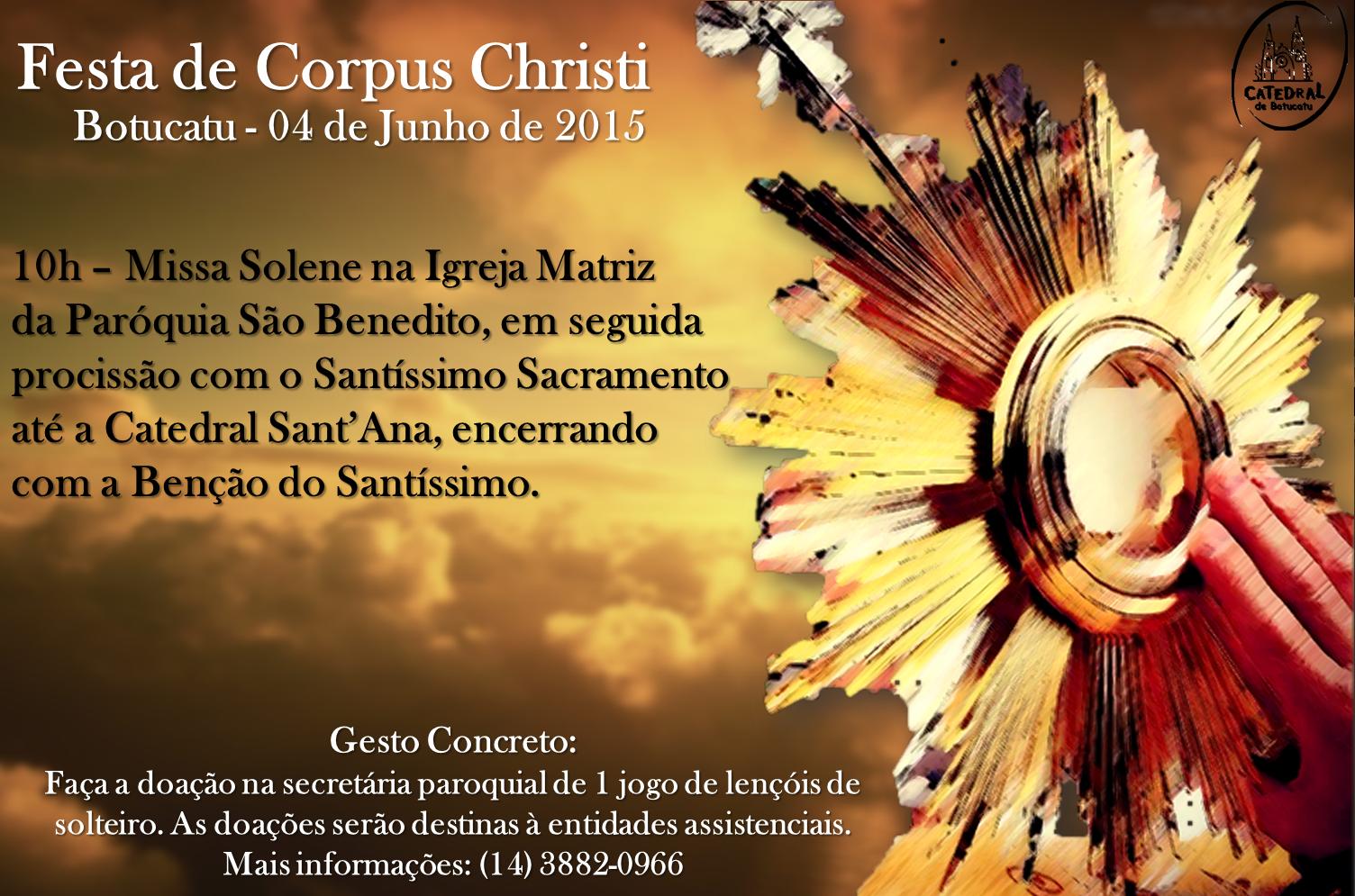 Catedral E Paróquia São Benedito Se Unem Para Celebrar Festa De