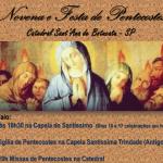 Catedral iniciará Novena de Pentecostes no dia 15