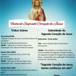 Festa do Sagrado Coração de Jesus na Paróquia N.S. Aparecida em Botucatu será entre os dias 9 e 12 de junho