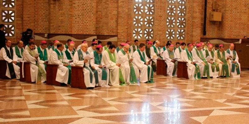 Missa no Santuário Nacional abre segundo dia de atividades da 78ª Assembleia dos Bispos do Regional SUL 1 (foto: Michell Lima)