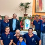 Terço dos Homens ocorre há 6 anos na Paróquia N.S. Consolata, em São Manuel