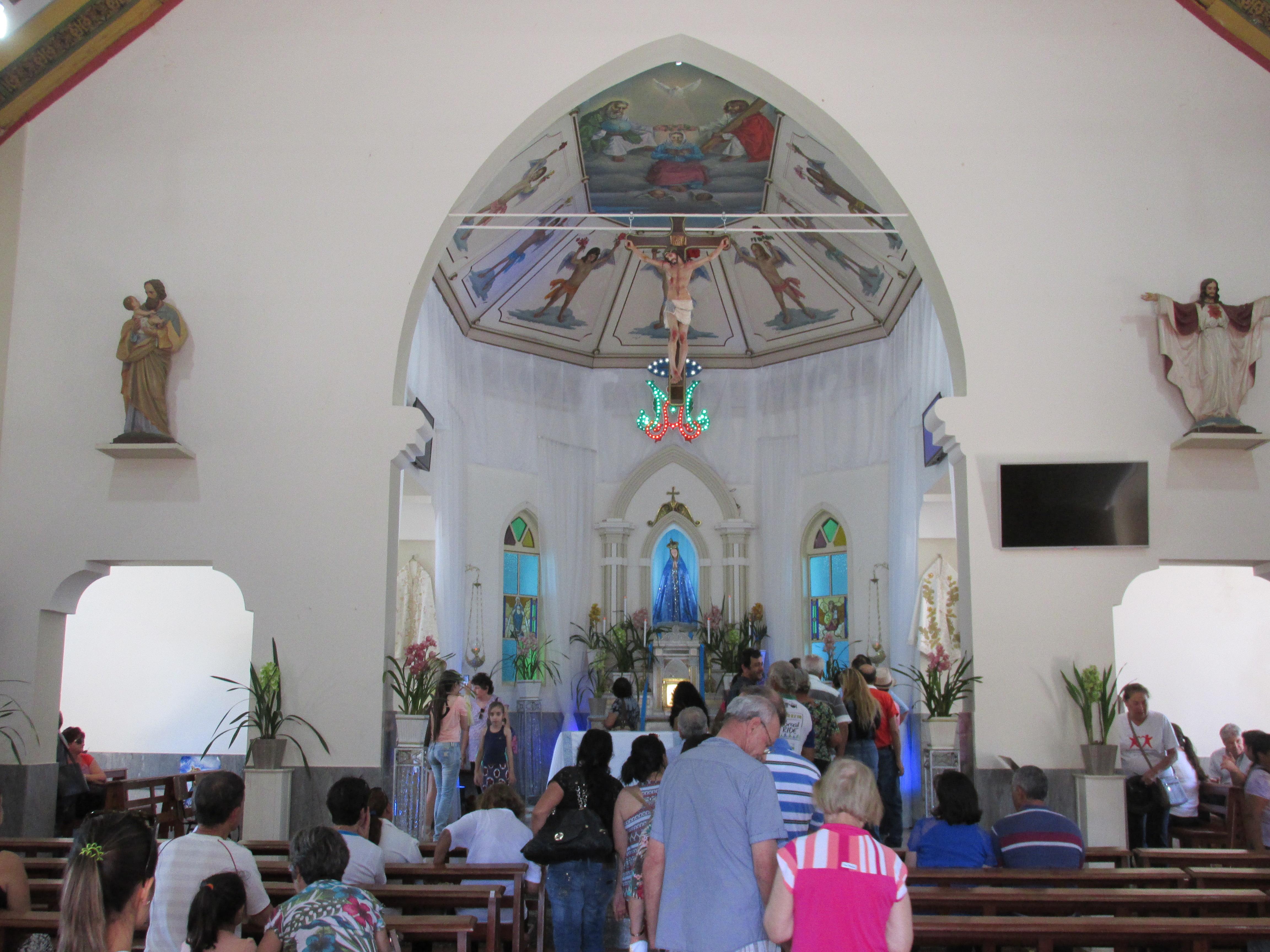 Festa da Assunção de Nossa Senhora - Santuário Nossa Senhora Aparecida - Aparecida de São Manuel
