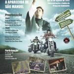 17ª Moto Romaria acontece no domingo (16), em Aparecida de São Manuel