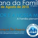 Semana da Família ocorre entre 23 e 29 de Agosto, em Igaraçu do Tietê