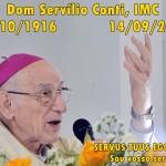 1 ano do falecimento de Dom Servílio Conti