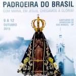 Santuário celebrará a Festa da Padroeira do Brasil em Aparecida de São Manuel