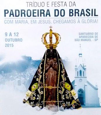 Festa de N.S. Aparecida em Aparecida de São Manuel
