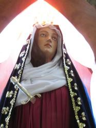 Imagem de N.S. das Dores, padroeira de Avaré.