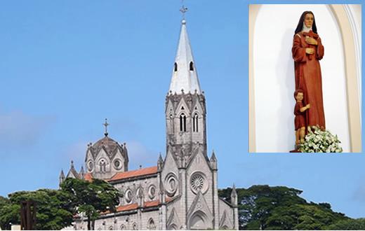 Santuário Santa Teresinha em São Manuel inicia hoje (30) as festividades da Padroeira