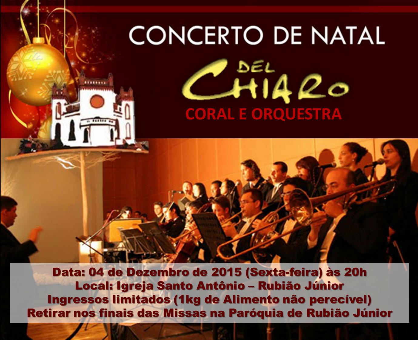 Concerto de Natal em Rubião