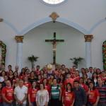 50 jovens foram crismados na Paróquia N.S. Aparecida em Lençóis Paulista