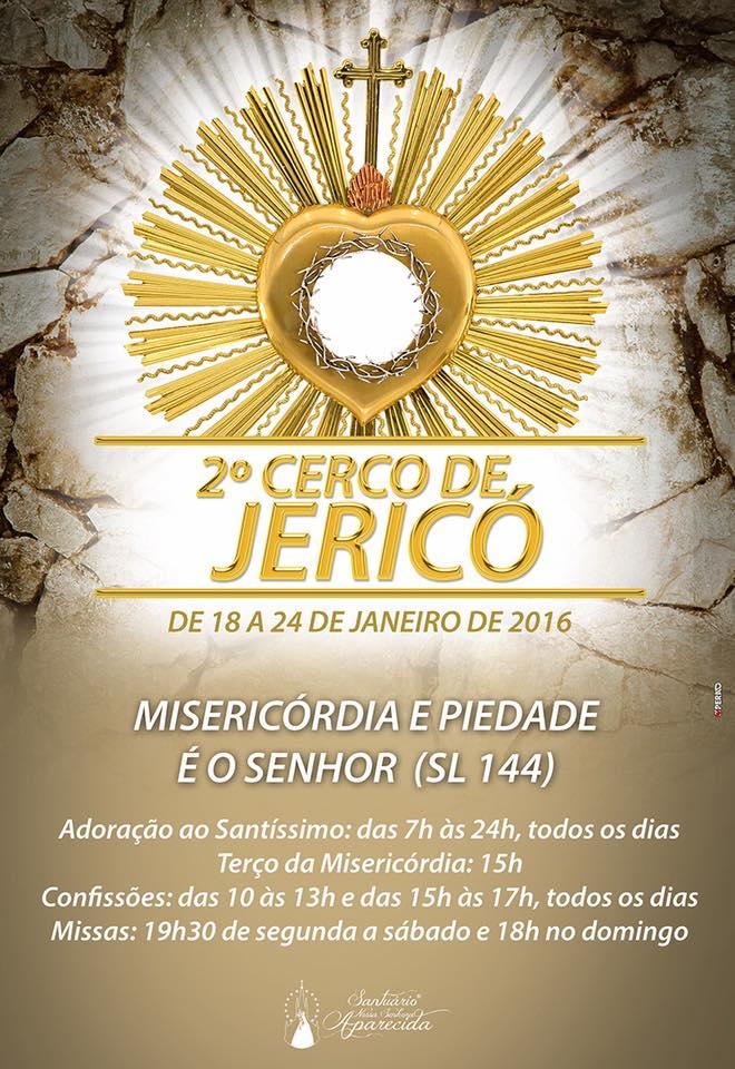 Cerco de Jericó no Santuário de Aparecida de São Manuel