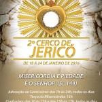 Santuário de Aparecida realizará o 2º Cerco de Jericó entre os dias 18 e 24 de janeiro