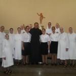 Irmãs Marcelinas comemoram a Festa de Nossa Senhora do Divino Pranto