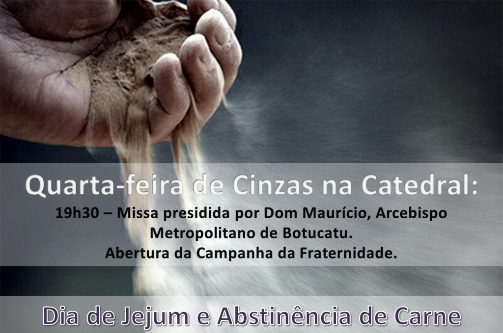 Cinzas na Catedral