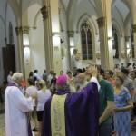 Dom Maurício presidiu Missa das Cinzas na Catedral