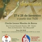 Retiro de Intercessores da RCC será em São Manuel nos dias 27 e 28 de fevereiro