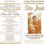 Laranjal Paulista celebrará Festa de São José