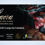 Via Sacra ao vivo já é neste sábado (19) no Largo da Catedral