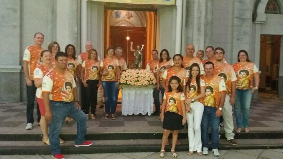 Imagem do Padroeiro São João Batista está em peregrinação pelas capelas e igrejas de Laranjal Paulista