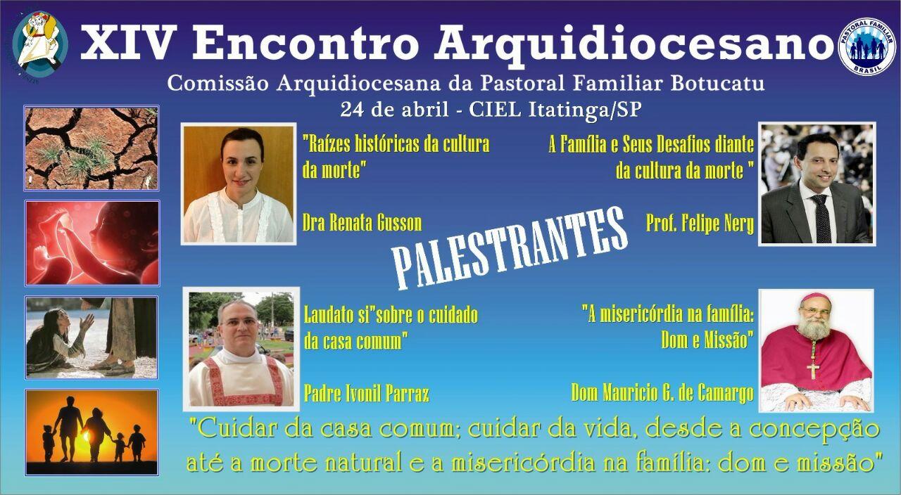 Encontro Arquidiocesano Pastoral Familiar
