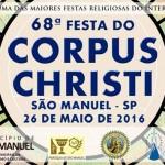 São Manuel realiza a 68ª Festa de Corpus Christi