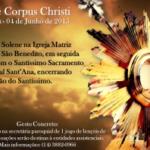 Catedral e Paróquia São Benedito se unem para celebrar Festa de Corpus Christi