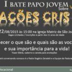 I Bate Papo Jovem sobre Vocações Cristãs, dia 22 em Igaraçu