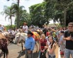 Milhares de devotos participaram da Festa da Padroeira do Brasil no Santuário de Aparecida de São Manuel