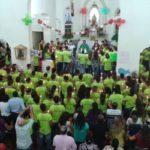 Santuário reuniu 80 jovens no Acampamento Juventude Fiel