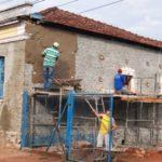 Obras do Casarão que abrigará Centro Paroquial em Pratânia seguem a todo vapor