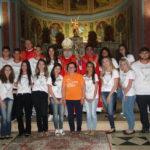 Dom Maurício confere sacramento da Crisma a jovens de Laranjal Pta