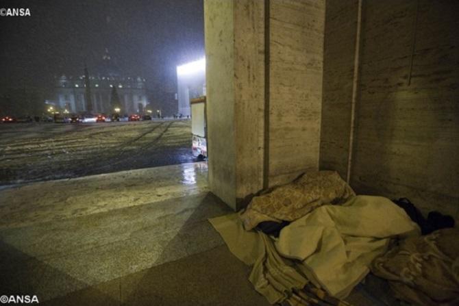 Dormitórios do Vaticano ficarão abertos 24h para acolher os sem-teto