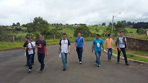 Seminaristas realizam missão na Paróquia São Pio X em Botucatu