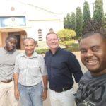 Pe. Emerson realiza experiência missionária junto a Fazenda da Esperança em países africanos