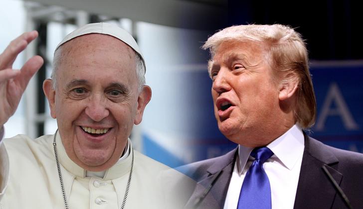 Papa Francisco poderia se reunir com Donald Trump em maio