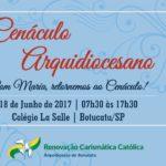 RCC promove Cenáculo Arquidiocesano