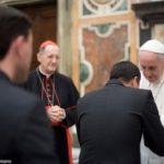 """Francisco a jovens presbíteros: """"Ser sacerdote é arriscar a vida pelo Senhor"""""""