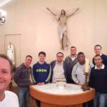 Seminaristas em missão da Arquidiocese se reúnem para partilhar experiências