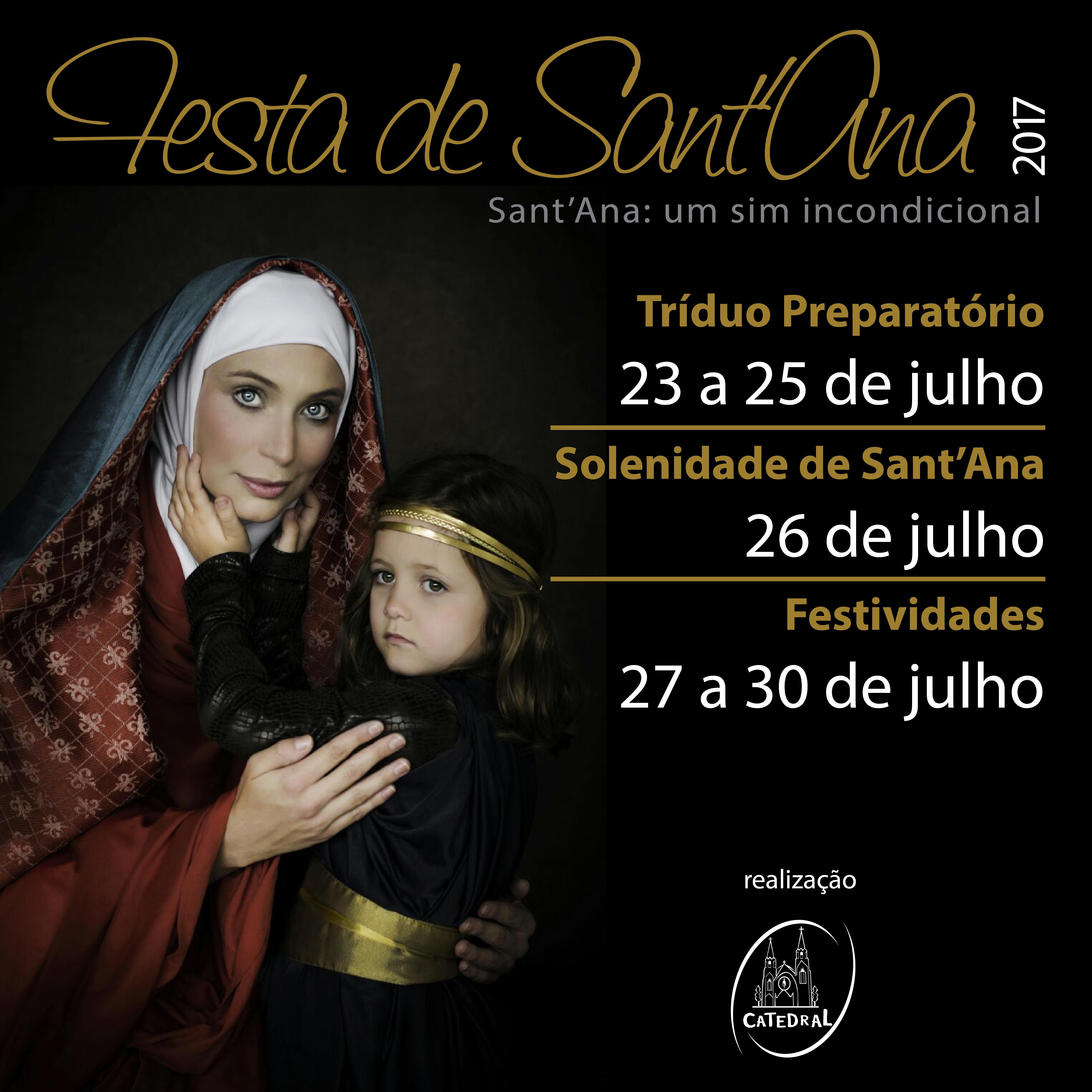Festa de Sant'Ana: a festa da família
