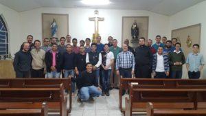 Seminaristas vivem dias de convivência e formação