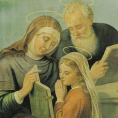 São Joaquim e Sant'Ana, pais de Nossa Senhora. Memória