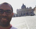 Arquidiocese envia Padre para estudar em Roma