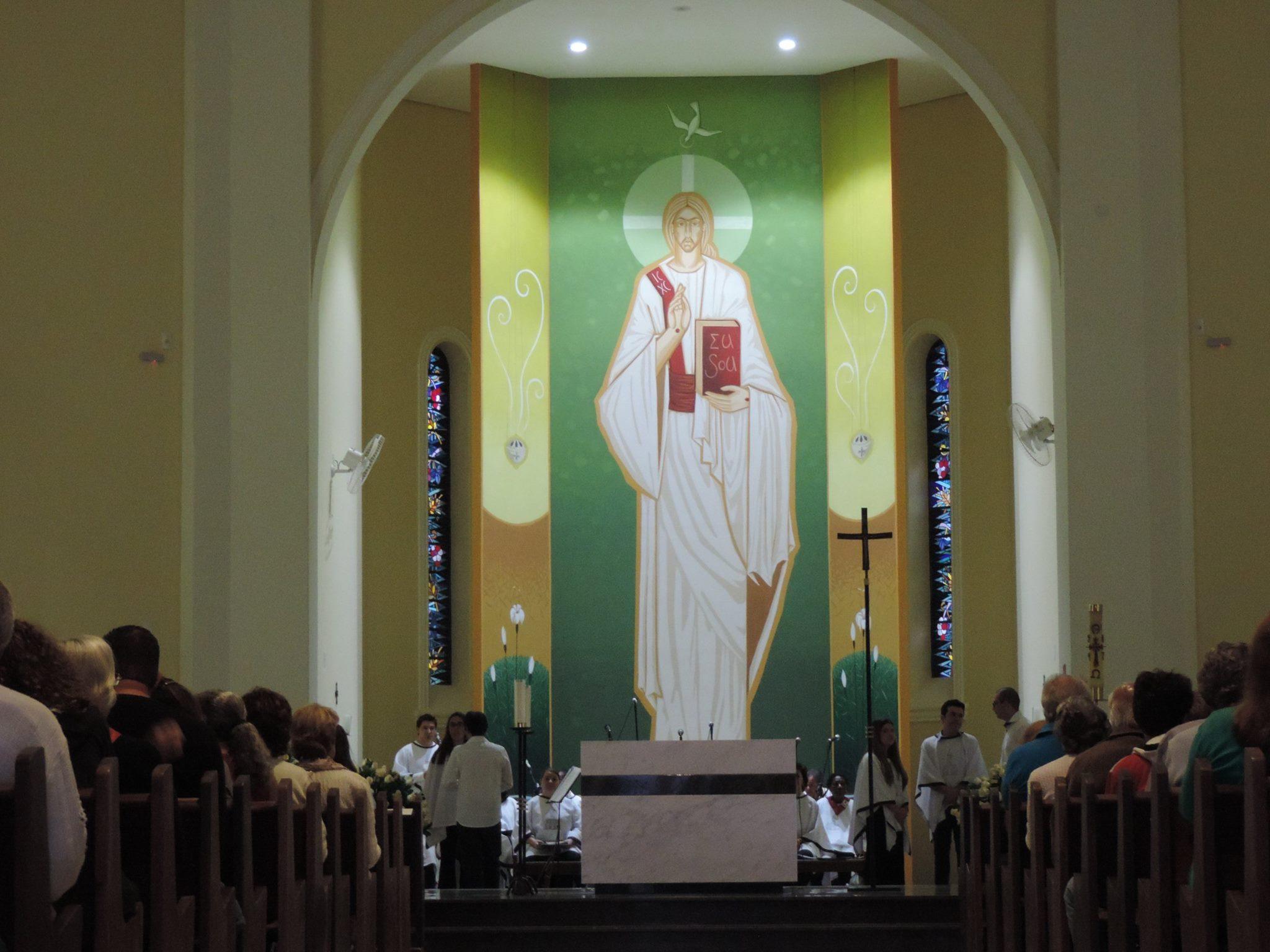 Paróquia São Benedito de Avaré é Dedicada após passar por reforma
